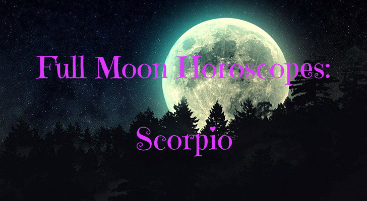 full moon horoscopes scorpio